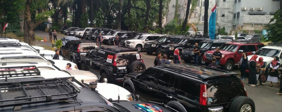 Keseruan Acara Halal Bihalal Ford Everest Club Indonesia