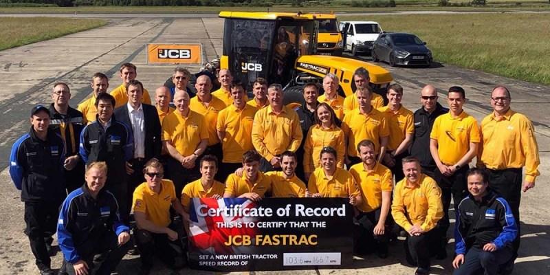 JCB Fastrac, Traktor Terkencang di Dunia