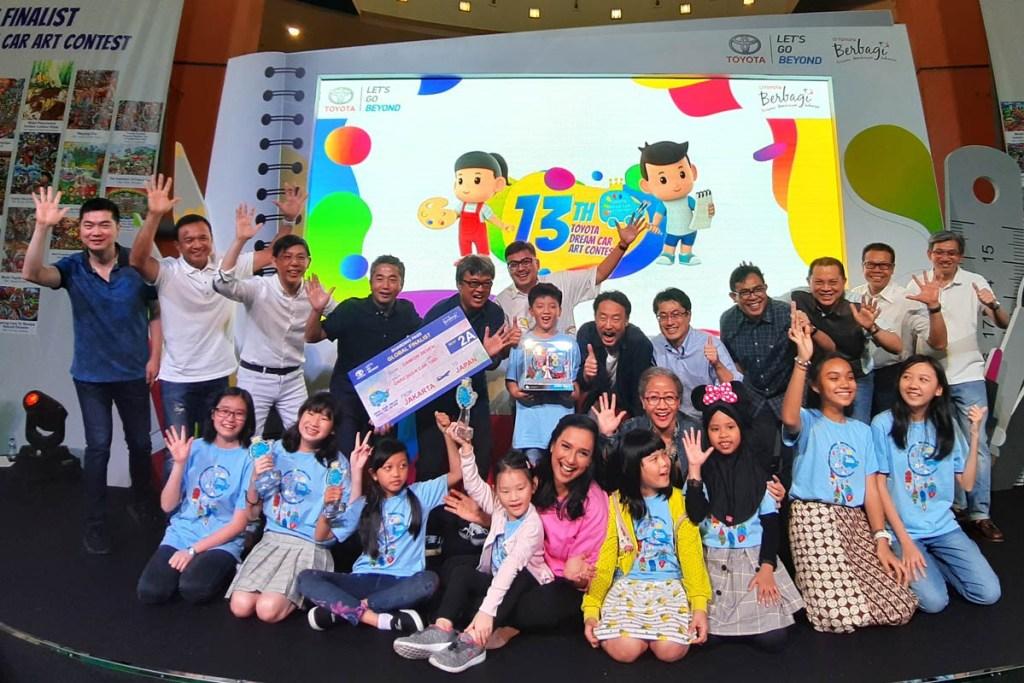 TDCAC, Tempat Anak Ciptakan Mobil Impian Melalui Gambar