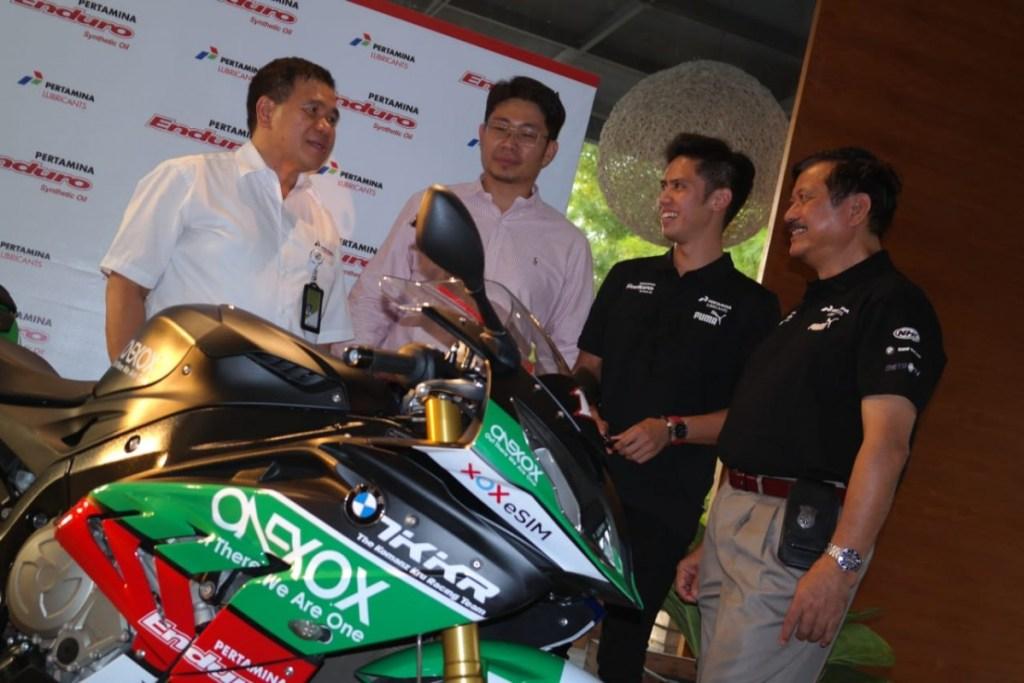 Pertamina Enduro Sponsori Ali Adrian Turun di Kelas Superbike 1000cc