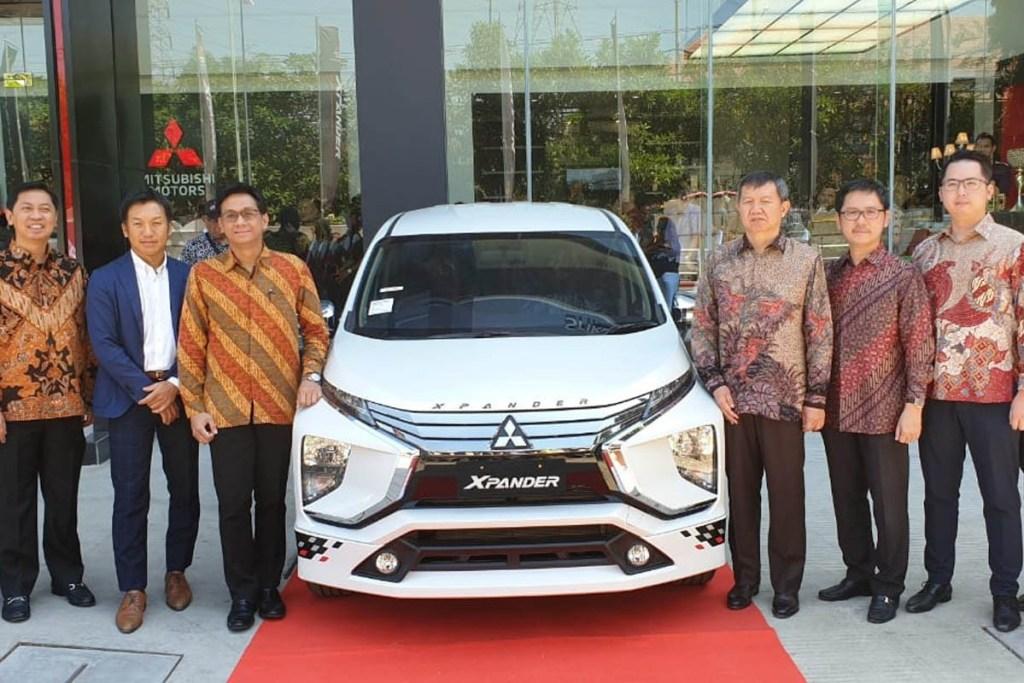 PT MMKSI Resmikan Dealer Mitsubishi Terlengkap di Gresik