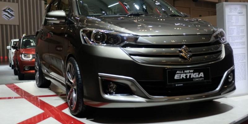 All New Ertiga Concept Tebar Pesona di GIIAS 2019