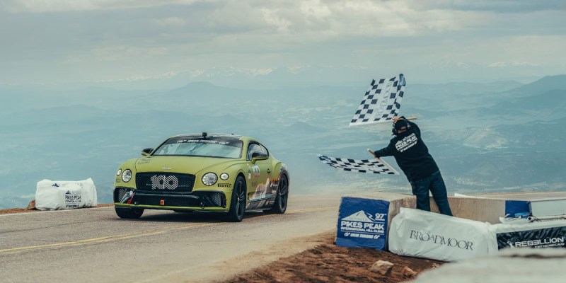 Bentley Continental GT, Tercepat di Pikes Peak 2019