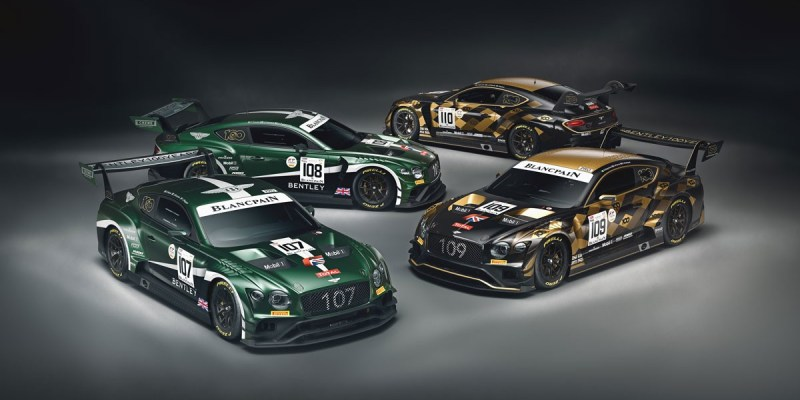 Bentley Continental GT3 Siap Bertarung di 24 Hours of Spa