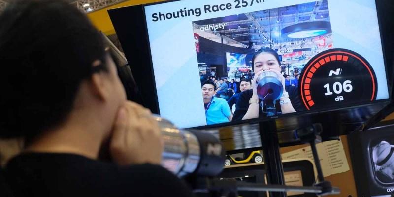 Yuk, Adu Teriak di Booth Hyundai Selama GIIAS 2019