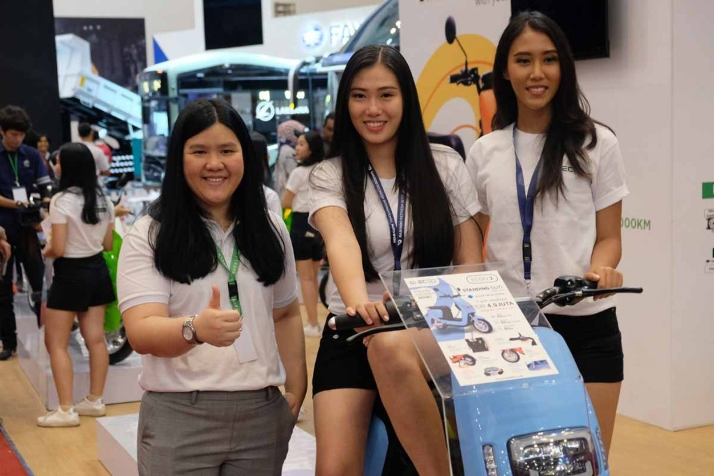 ECGO 2, Motor Listrik Ramah Lingkungan Meluncur di GIIAS 2019