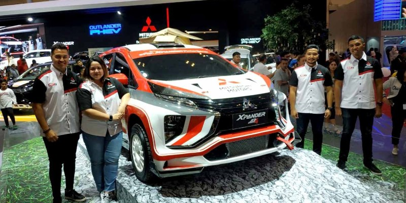 Xpander Rally Team, Siap Taklukkan Medan Rally AP4
