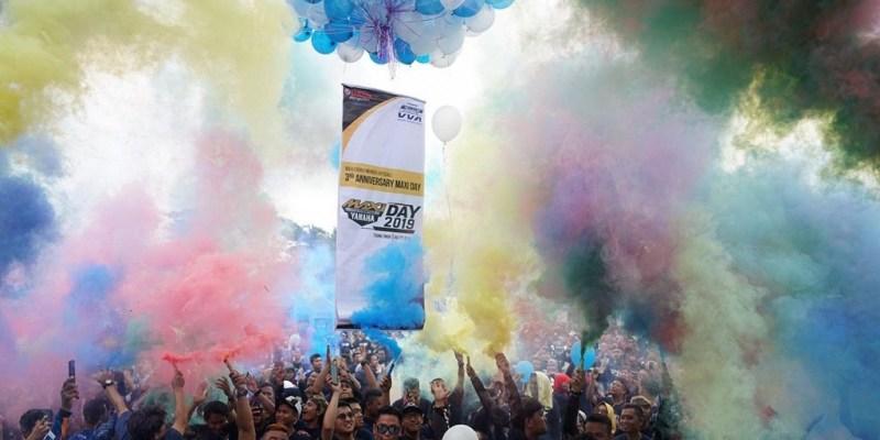 Kemeriahan Maxi Yamaha Day 2019 Singgah di Tebing Tinggi