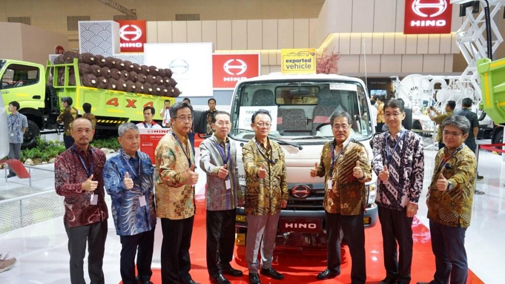 Hino Indonesia Perkuat Ekspor Kendaraan Komersial