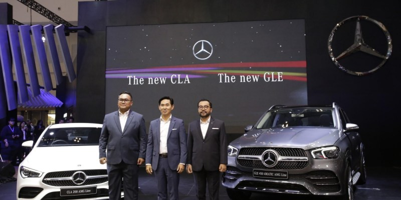 Mercedes-Benz Perkenalkan 3 Mobil Baru di GIIAS 2019