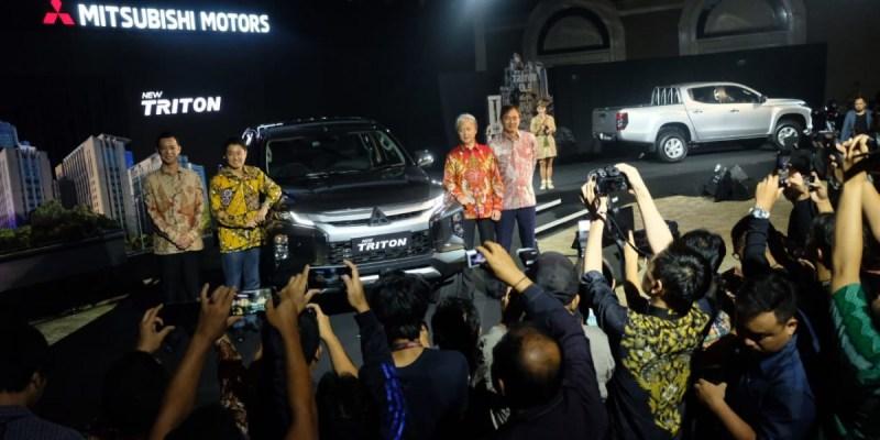 New Mitsubishi Triton Resmi Diluncurkan di Indonesia