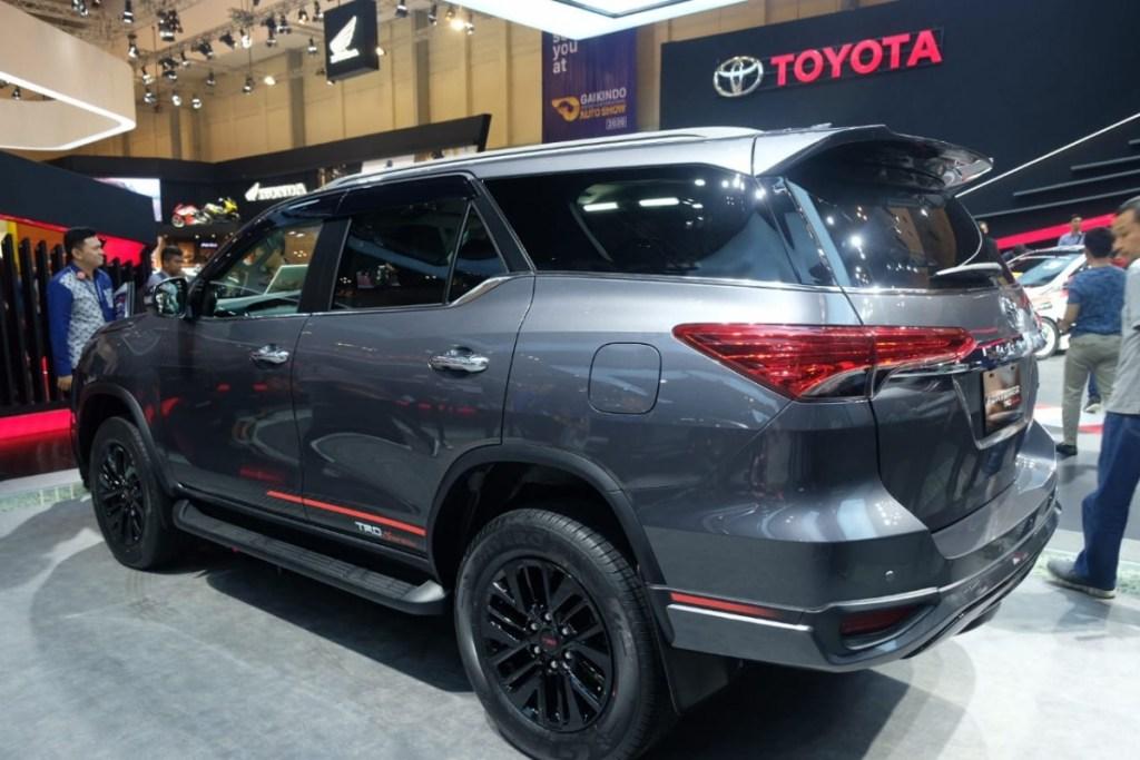 New Toyota Fortuner TRD Sportivo di GIIAS 2019