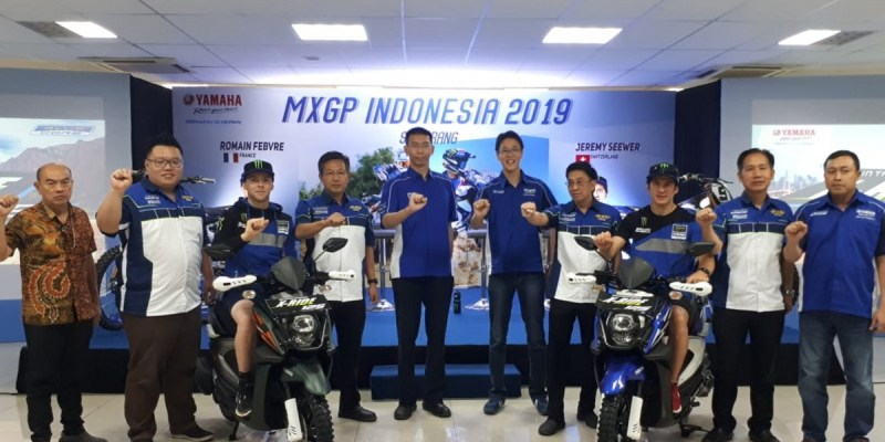 Duo Rider Monster Energy Yamaha Factory MXGP Singgah di Semarang
