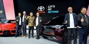 3 Mobil Baru Toyota Mejeng di GIIAS 2019