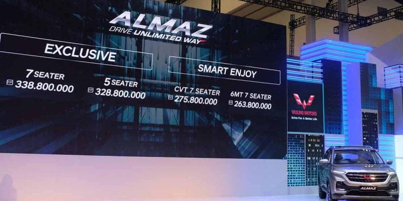 Hadir di GIIAS 2019, Wuling Almaz 7-seater Dibanderol Rp 263,8 Juta