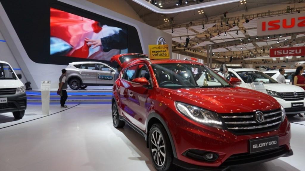 Jurus Pikat Pengunjung Mobil Tiongkok di GIIAS 2019