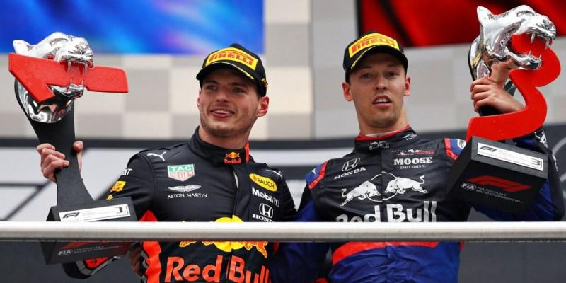 F1 Jerman 2019: Dua Pembalap Bermesin Honda Naik Podium