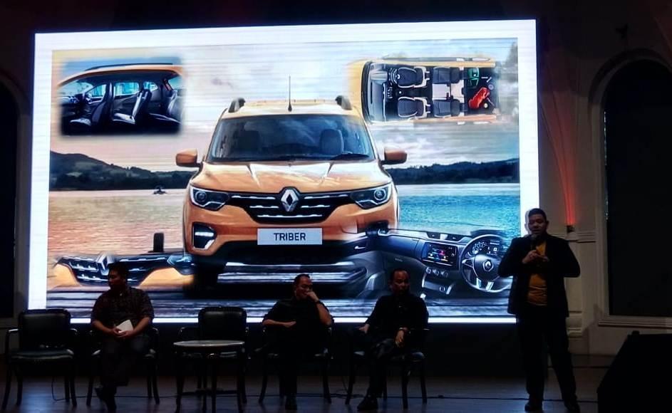 Menyambut Renault Triber di GIIAS 2019, Bisa Dipesan Sekarang