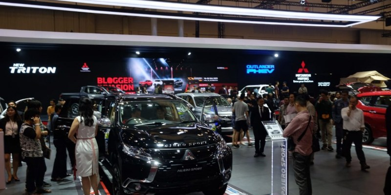 Tak Muluk, Mitsubishi Ingin Jualan 4000 Unit di GIIAS 2019