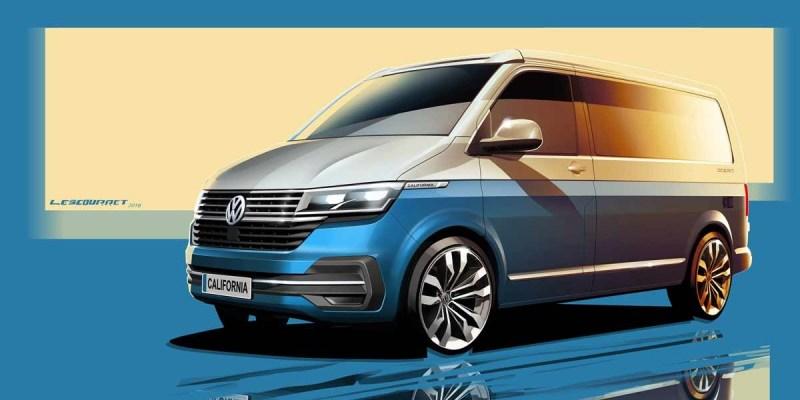 Volkswagen California 6.1, Ada yang Baru