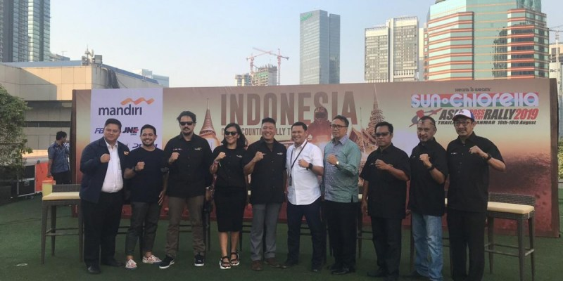 Tim Indonesia Kembali Berlaga di Asia Cross Country Rally 2019