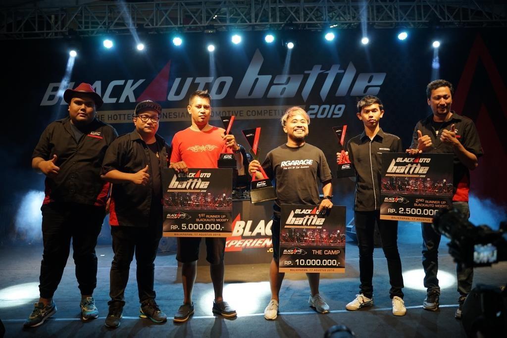 BLACKAUTO BATTLE 2019 Singgah di Balikpapan