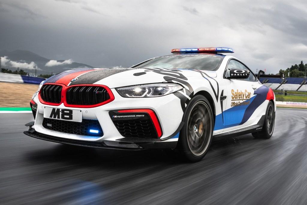 BMW M8 MotoGP Safety Car Nongol di Sirkuit Austria