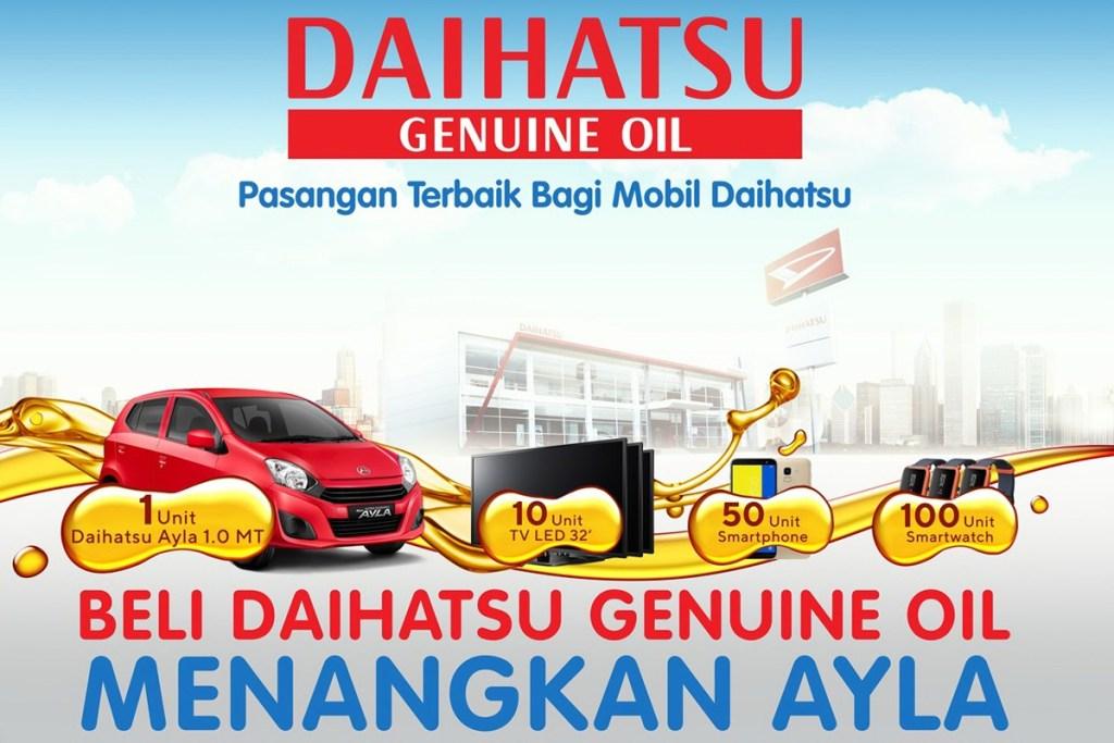 Daihatsu Part Bazaar 2019, Sediakan Part Mobil Baru dan Lawas