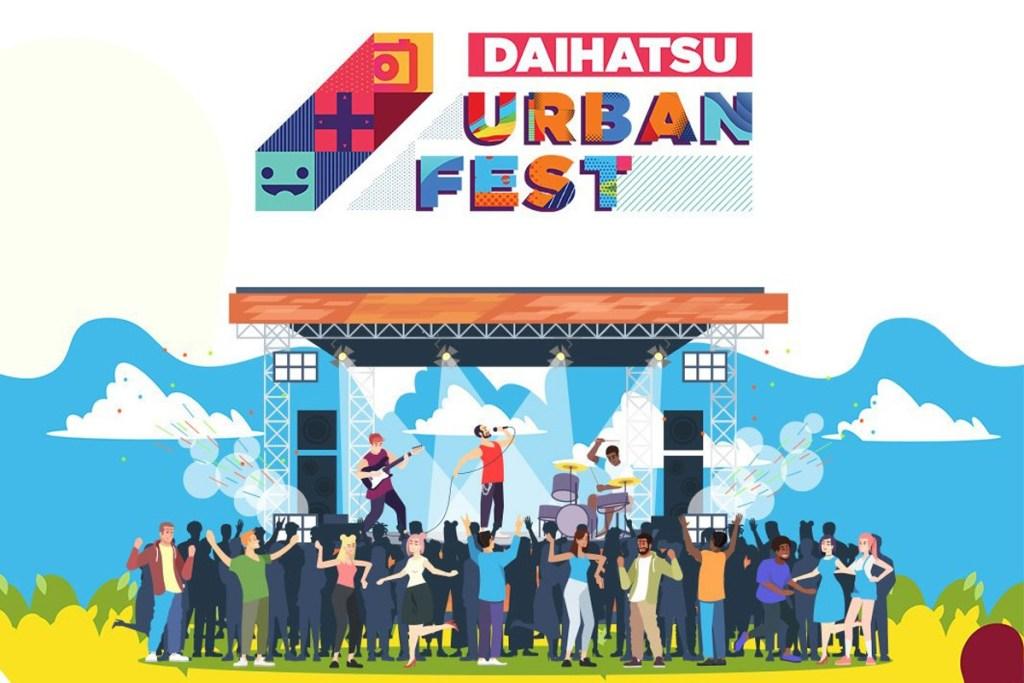 Daihatsu Urban Fest Sapa Milenial Yogyakarta