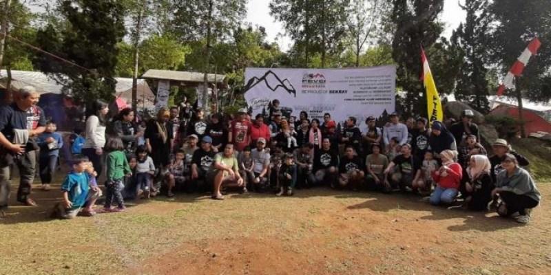 Keceriaan 'Family Camp Touring Batu Tapak' Fevci Bekasi