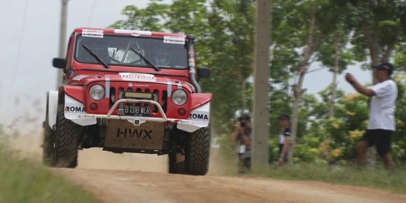 Perjuangan Pebalap Indonesia di Reli Dakar Versi Asia Tenggara Dimulai