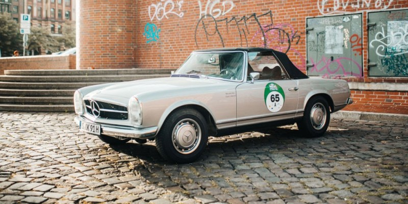 Mercedes-Benz Classic Ikut Hamburg-Berlin-Klassik Rally 2019