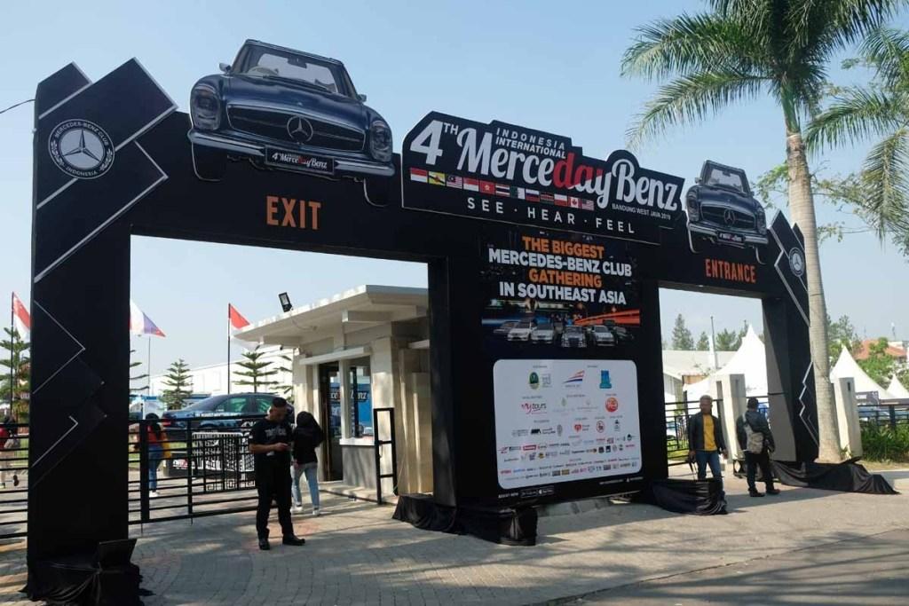 Pemprov Jawa Barat Dukung Penuh Gelaran Merceday Benz ke-4
