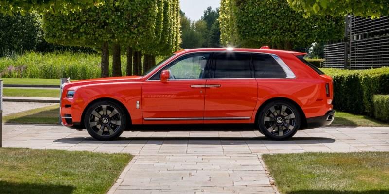 Rolls-Royce Cullinan Pesanan Khusus Konsumen