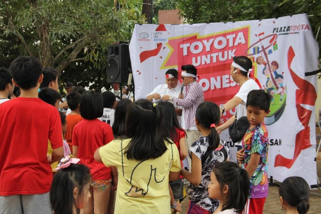 Toyota Ramaikan 101 Titik Semarak Pesta Merdeka