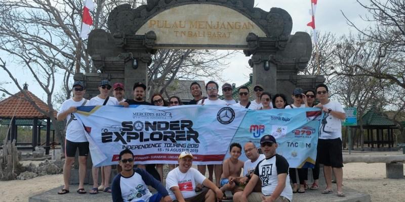 Tempuh Perjalanan 1.050 KM, 'Sonder Explorer 2019' Capai Puncak Kawah Ijen