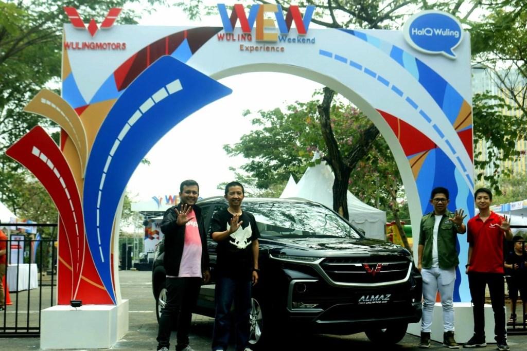 Wuling Experience Weekend Sapa Masyarakat Bekasi
