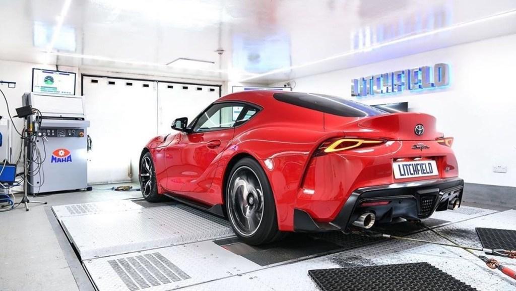 Toyota Supra Racikan Tuner Inggris, 420 HP!