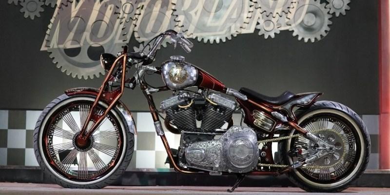 Modifikasi Harley-Davidson FXR Jawara SML Makassar