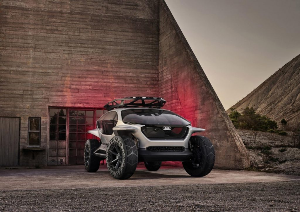 Audi AI:TRAIL quattro, Lebih Beda Bermain Offroad