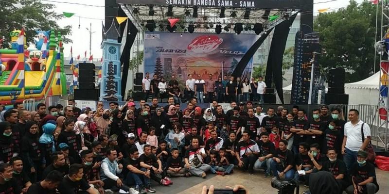 Festival Avanza-Veloz Sebangsa Lebih Beda di Pekanbaru