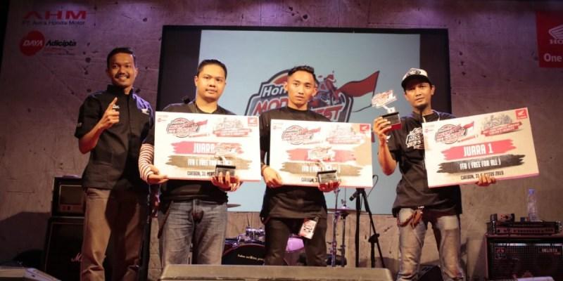 Modifikator Jawa Barat Unjuk Gigi di Honda Modif Contest Cirebon