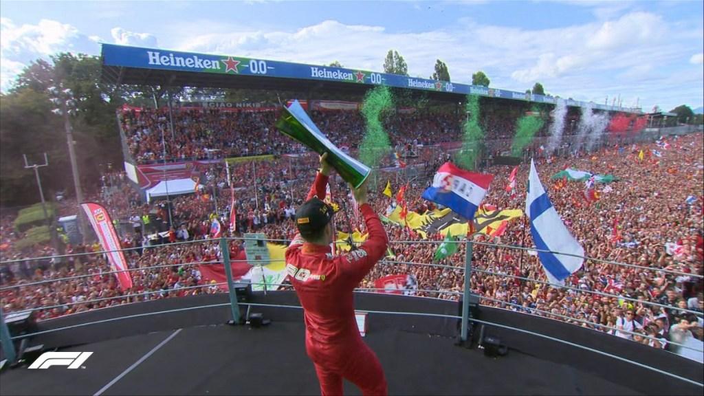 F1 Italia 2019: Charles Leclerc Bikin Gembira Tifosi