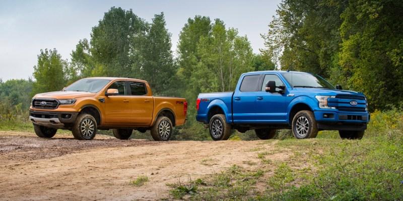 Ford Ranger dan Ford F-150 Makin Berani Terabas