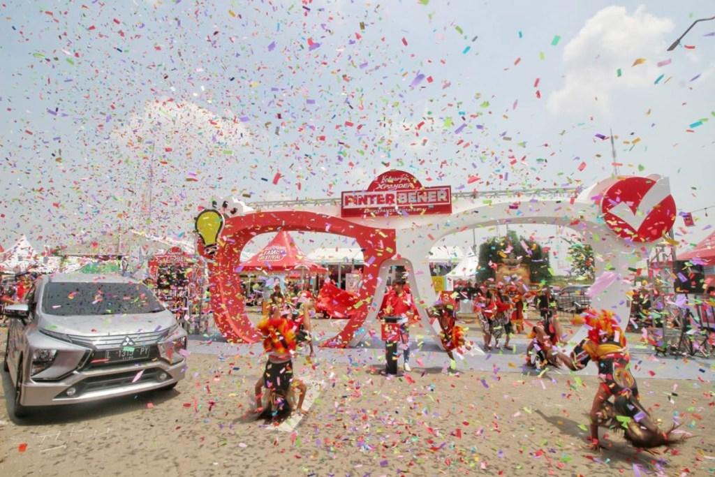 Keseruan Masyarakat Surabaya di 'Pinter Bener Family Festival'