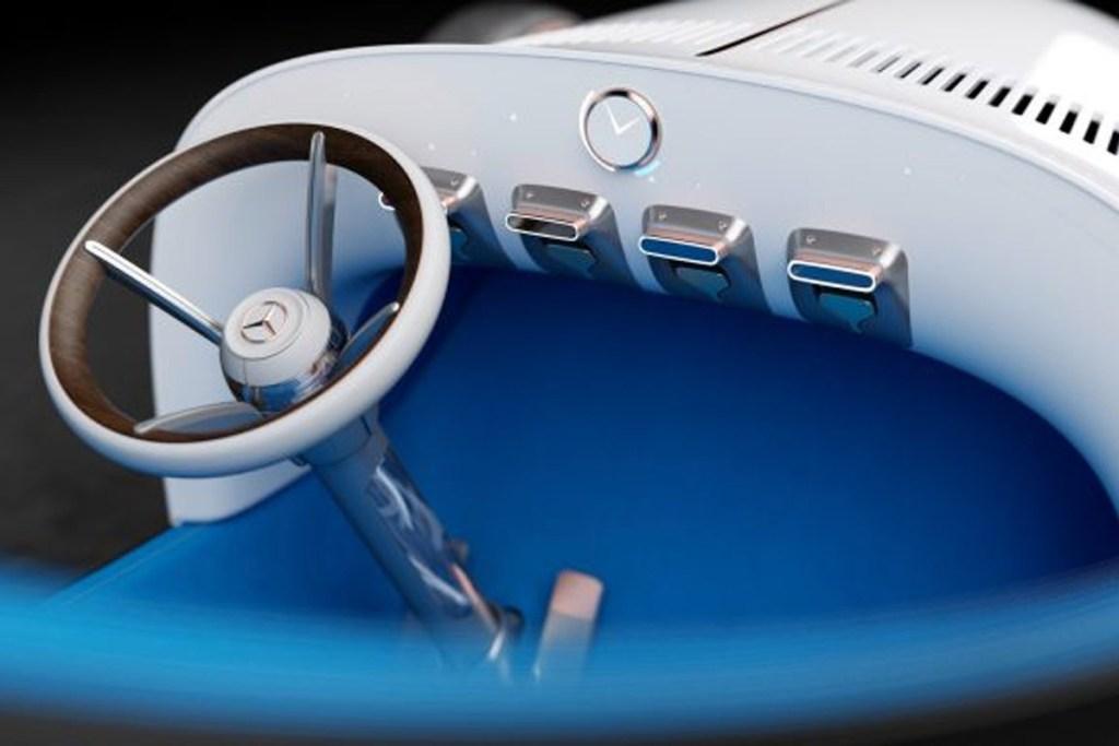 Mercedes Simplex Concept, Roadster Masa Depan Bergaya Retro
