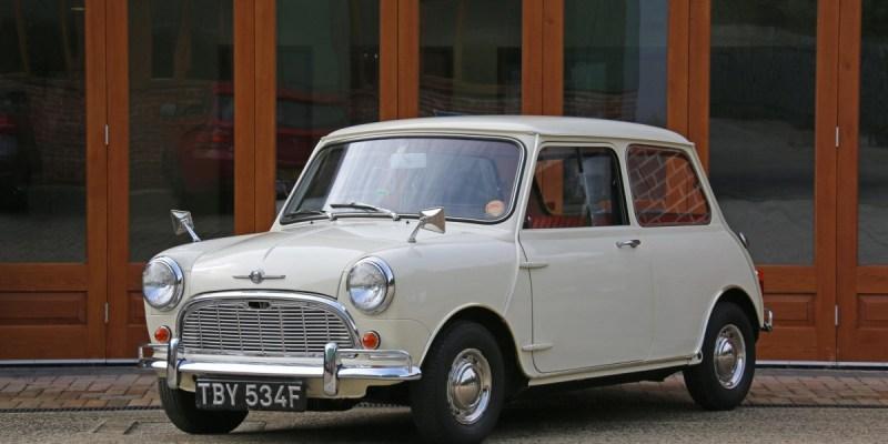 Morris Minor-Mini Super De Luxe 1968 Mk1