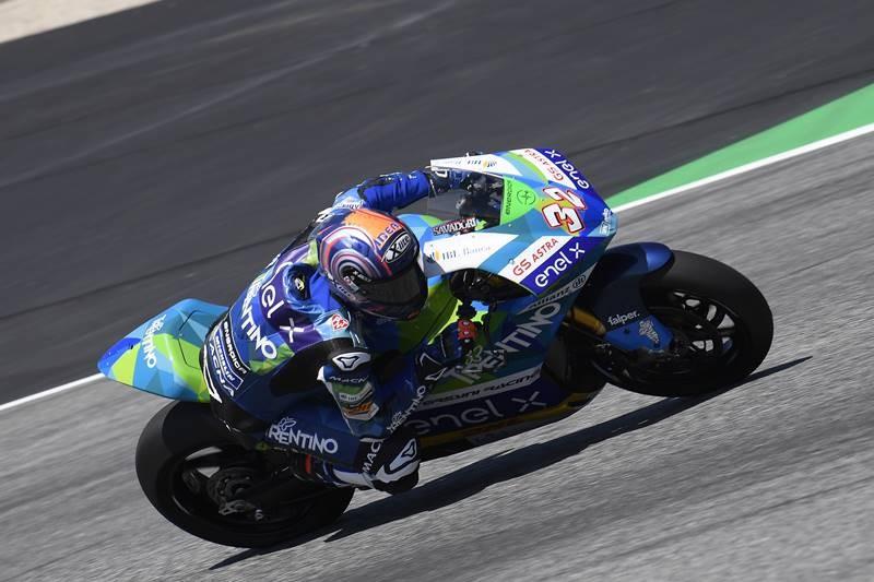 Kuasai MotoE, Matteo Ferrari Raih Poin di MotoGP San Marino
