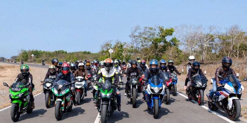 50 Bikers Jogja Ikut Sunmori Bersama Ali Adrian