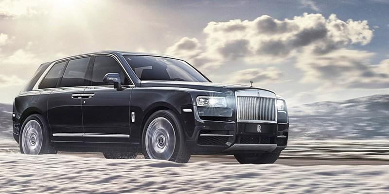 Rolls-Royce Cullinan Akan Dipamerkan di The Podium Lounge 2019